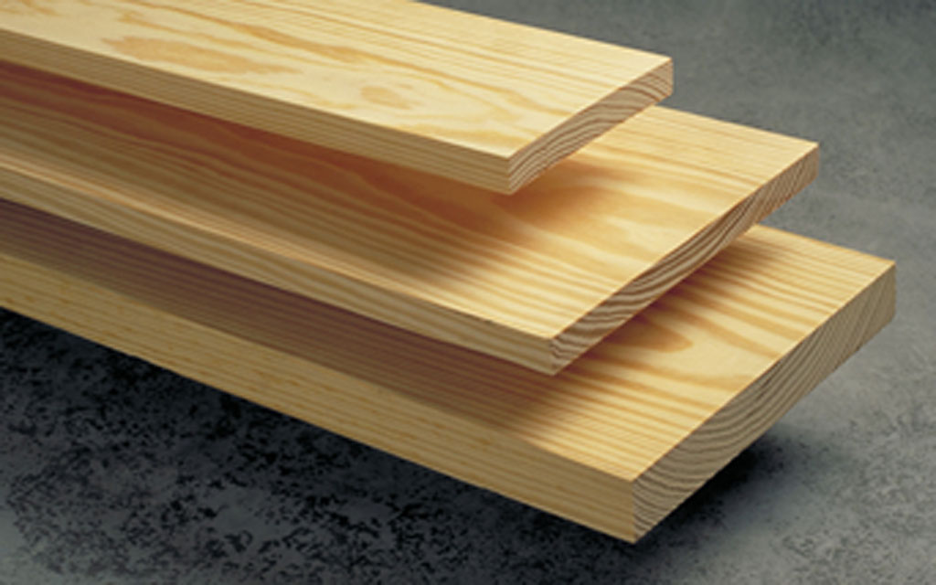 چوب در ابعاد ۱ در ۱۰ سانتیمتر