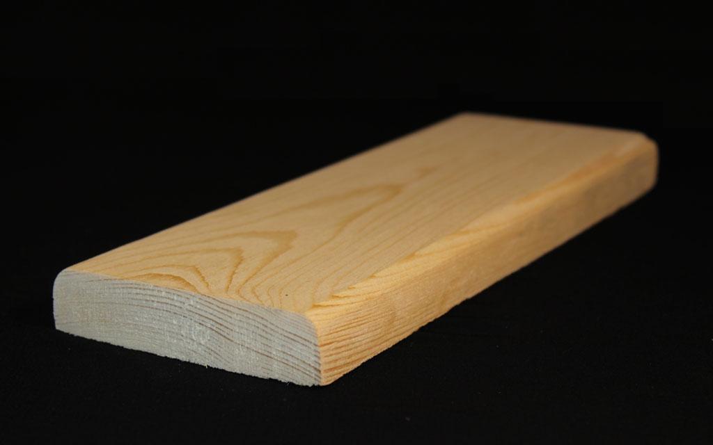 چوب در ابعاد ۲ در ۱۰ سانتیمتر نیمکتی